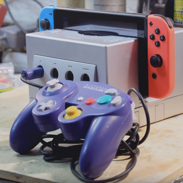 GameCube Docking Station With GC Controller Adapter